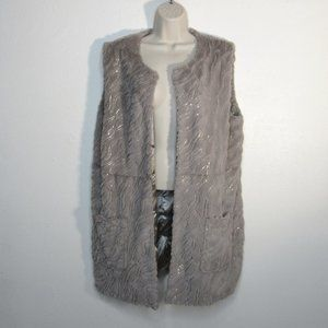 Mushka by Sienna Rose Faux Fur Sleeveless Vest
